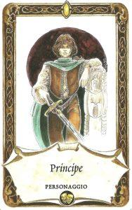 cera una volta carta racconto principe