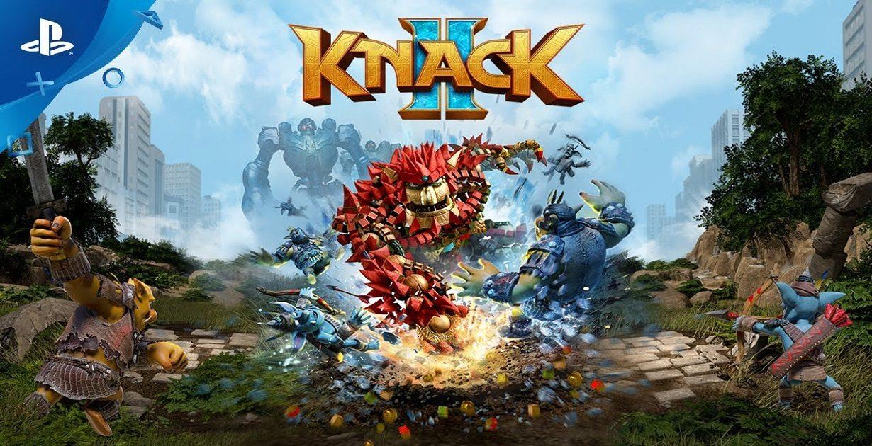 knack II nuovo gameplay mostrato