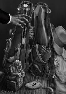 Alba di Chtulhu Custodia Violino