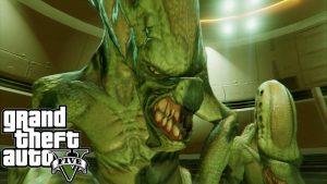 gta v online missione segreta alieni