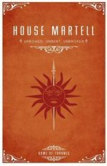 casa Martell game of thrones