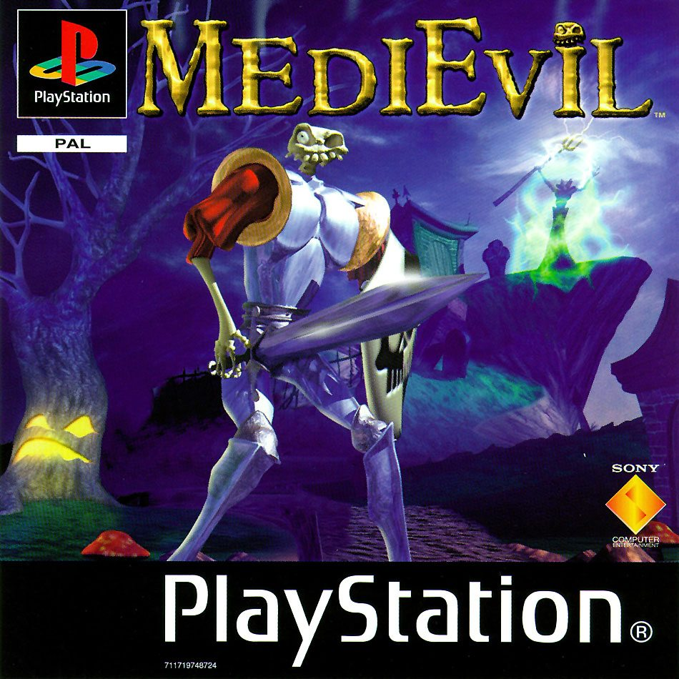 Medievil cover remake