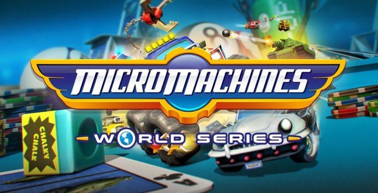 Recensione: Micro Machines World Series
