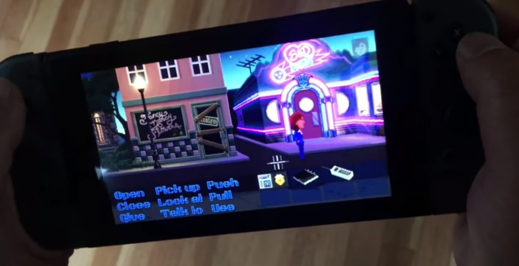 Thimbleweed Park Switch
