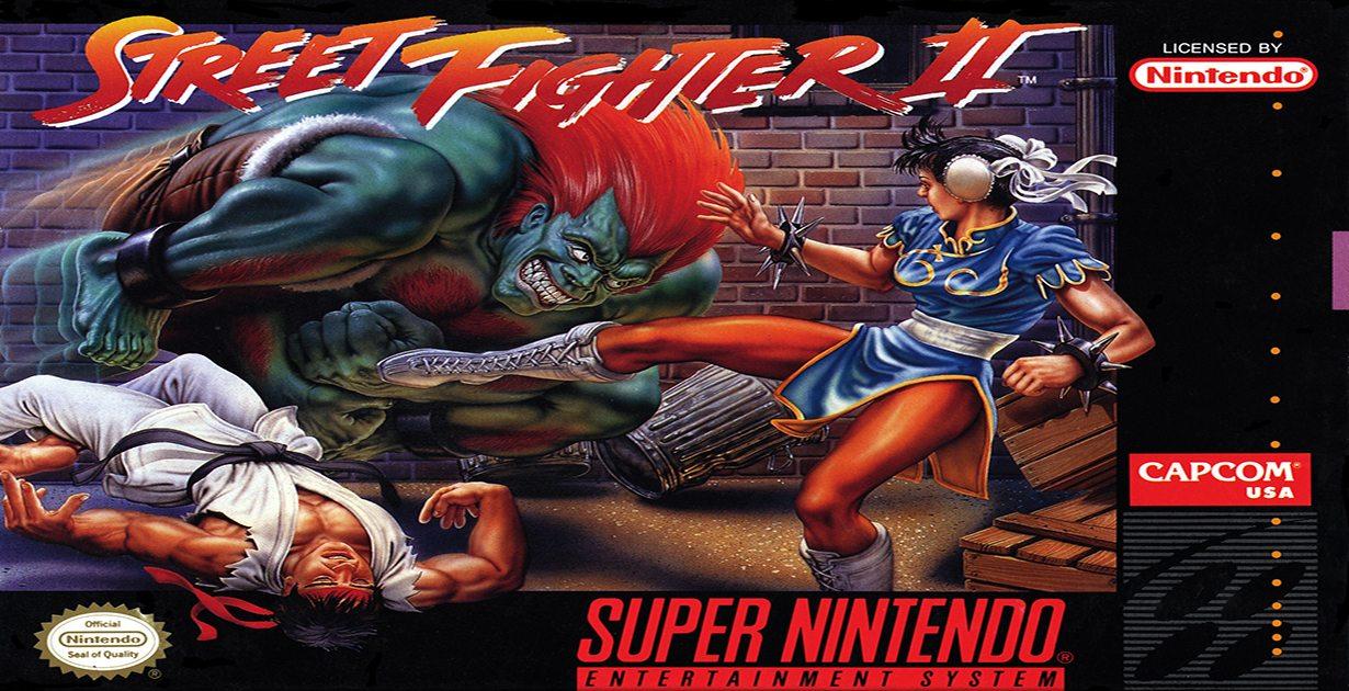 Street Fighter II e la cartuccia SNES esplosiva