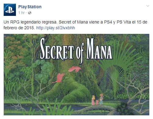 Secret of Mana: annunciato il remake per PC, PS4 e PS Vita