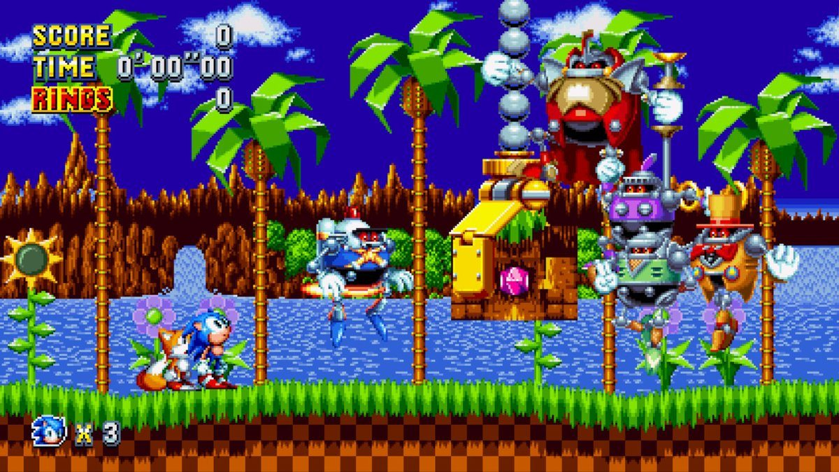 Sonic Mania Green Hill