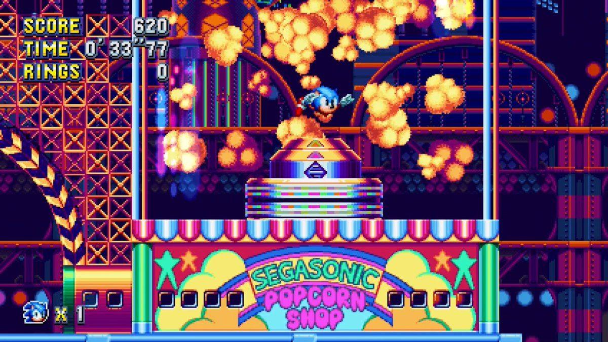 Sonic Mania studiopolis