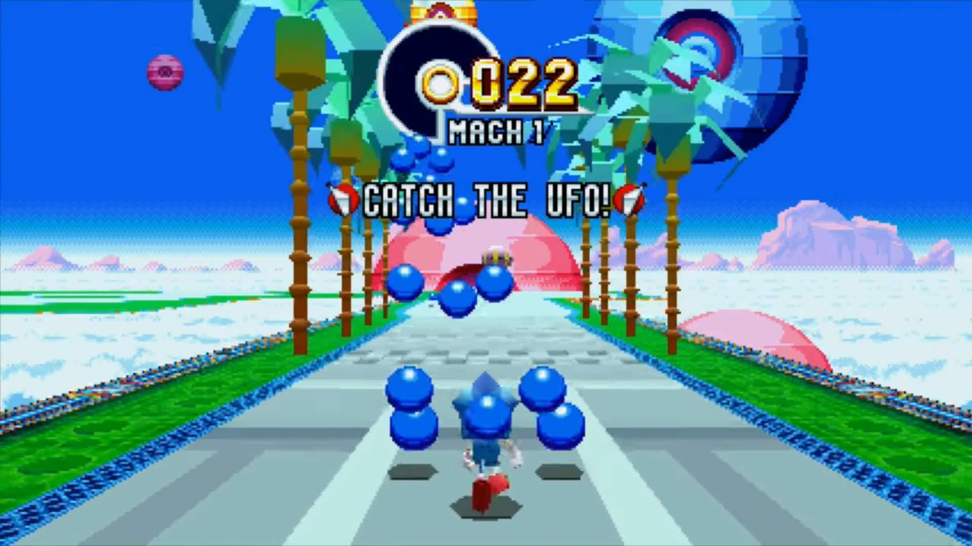 Sonic Mania Bonus Stage