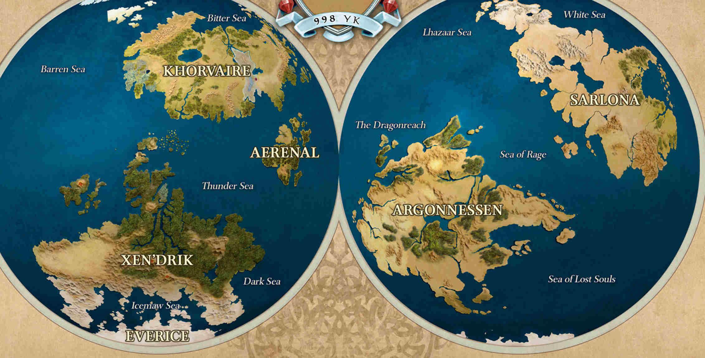 Mappa Eberron