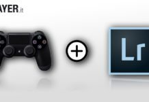 come usare il controller playstation con lightroom