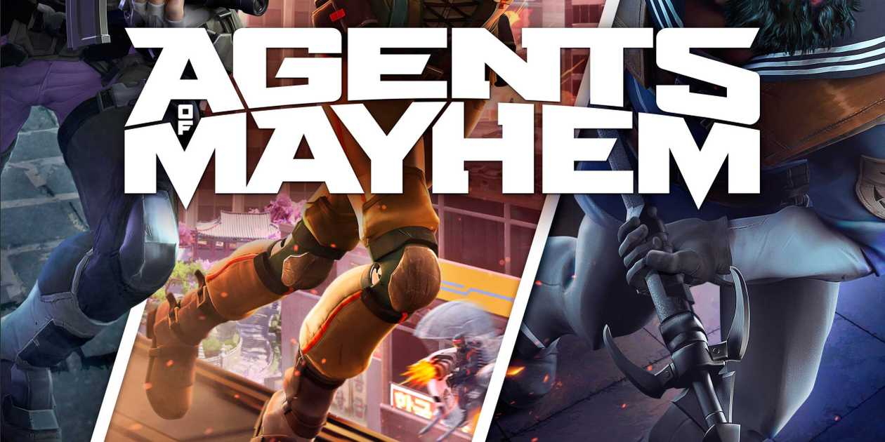 Copertina Agents Of Mayhem
