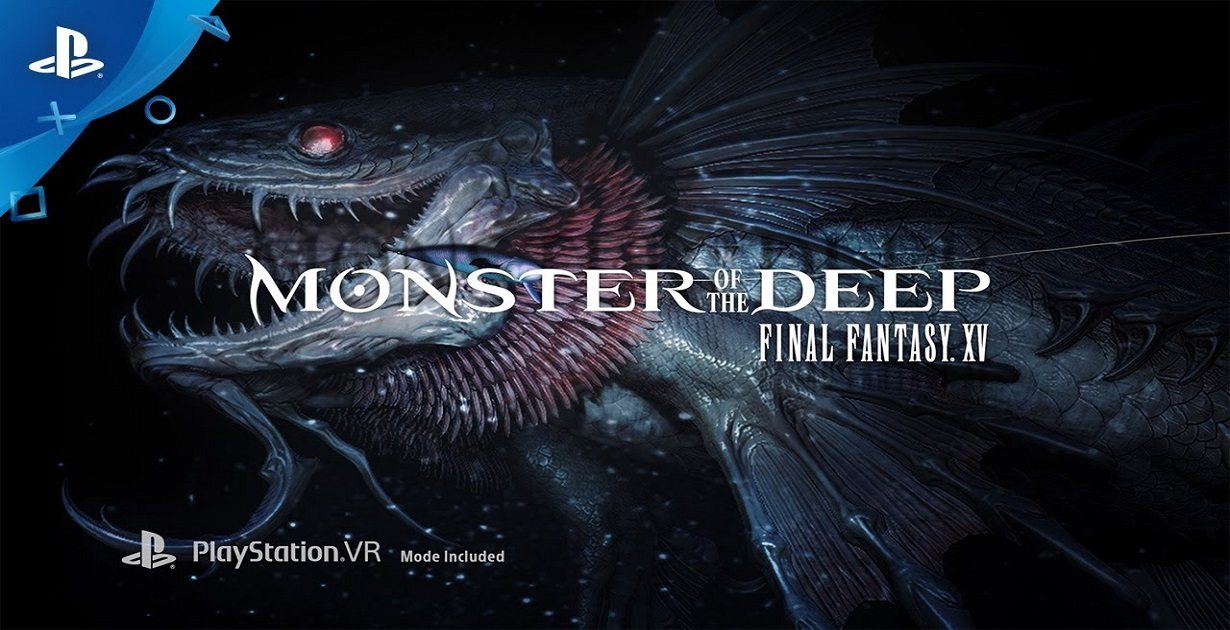 monster of the deep pesca nel mondo di final fantasy XV