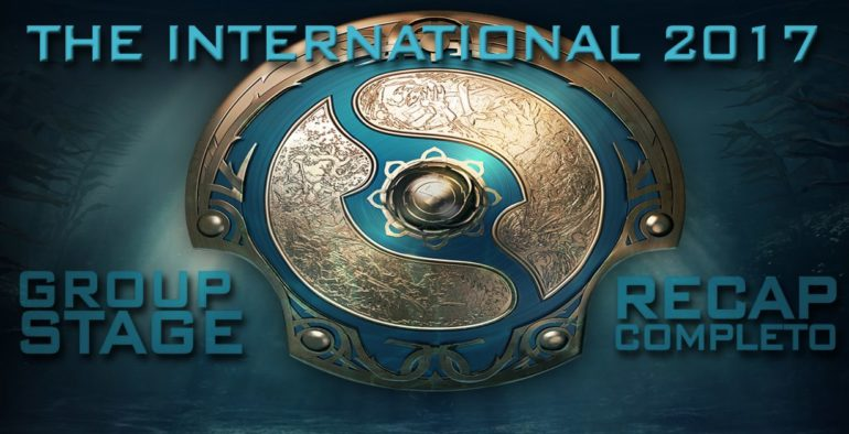 the international 2017 dota 2 group stage