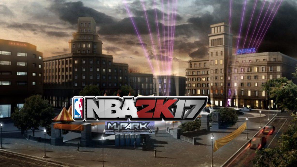 NBA 2K17 my park