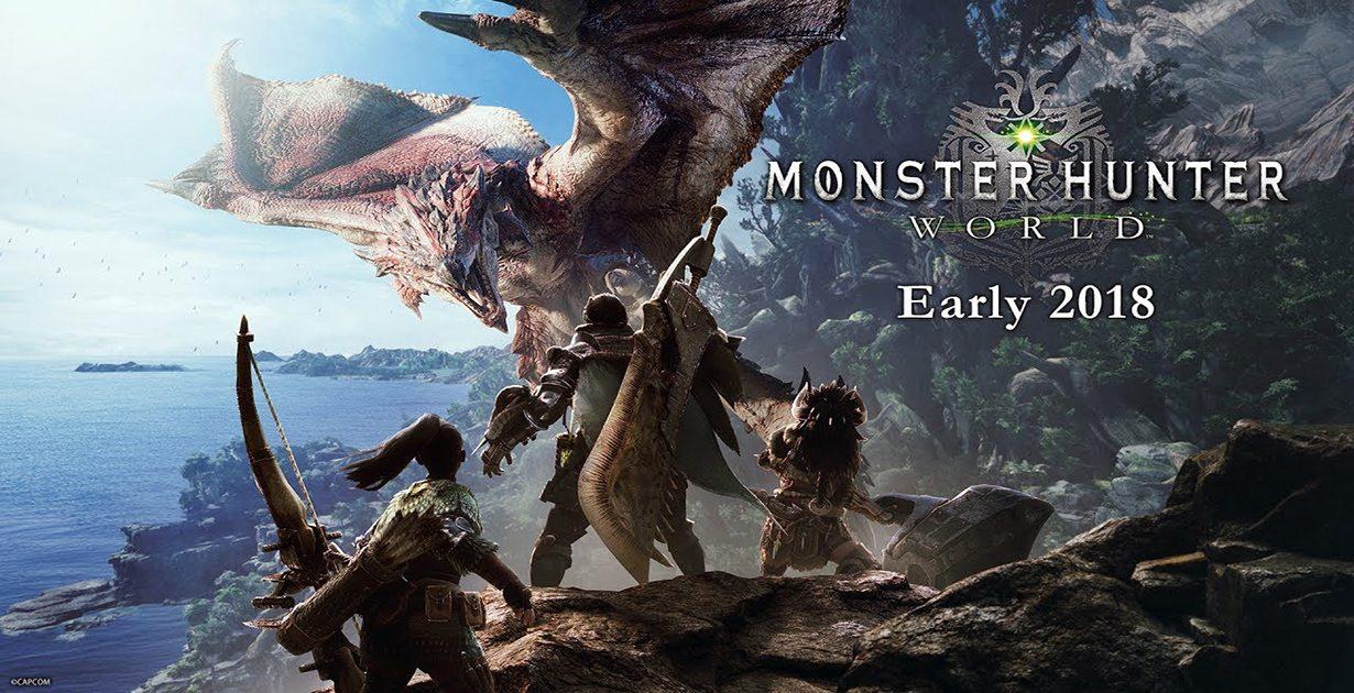 Mostrato nuovo trailer per Monster Hunter World