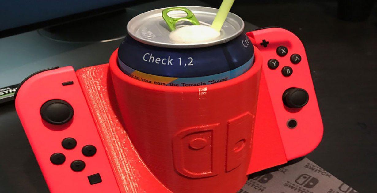 Nintendo Switch: Un portabevande da gaming