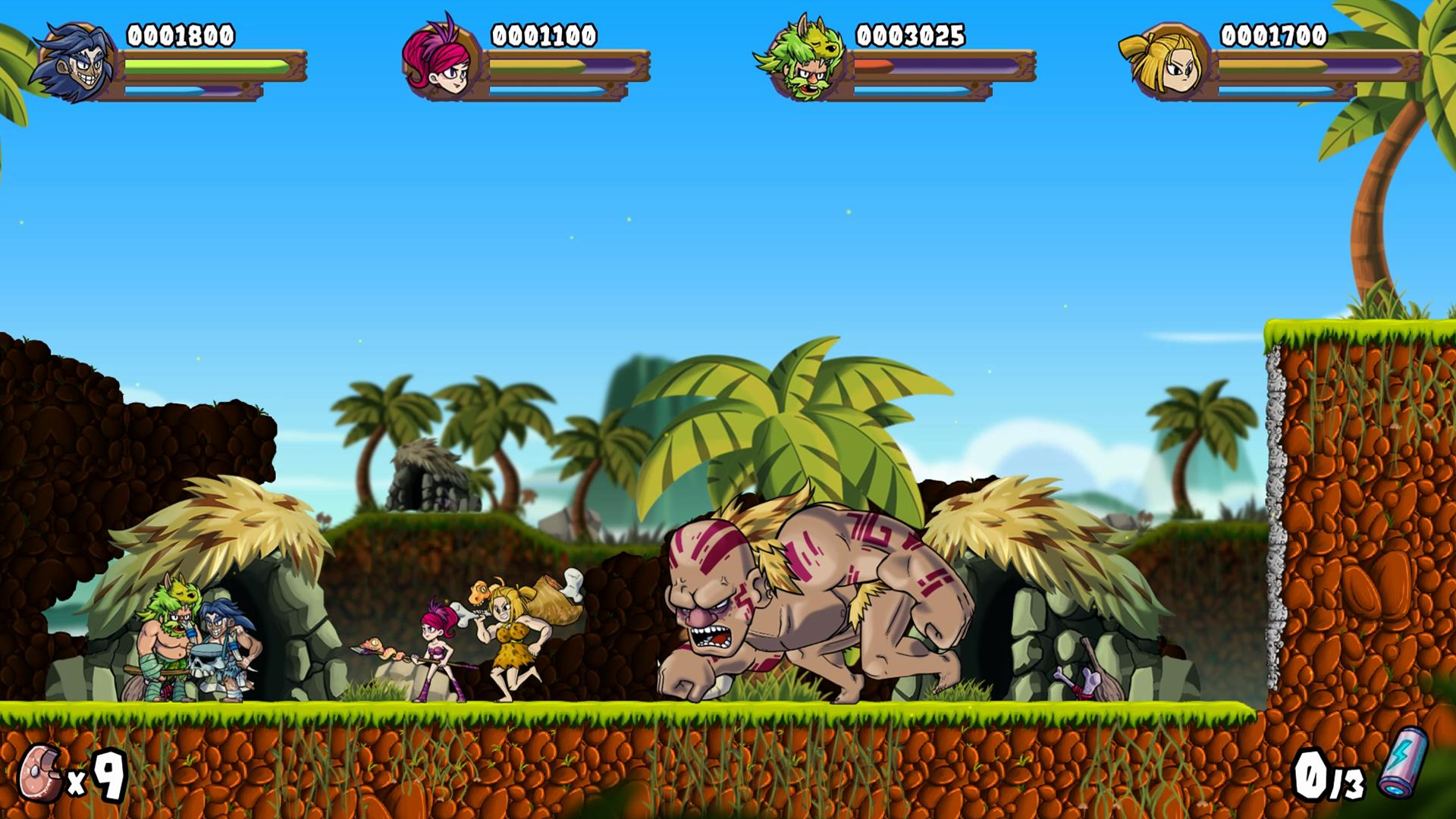 caveman warriors miniboss