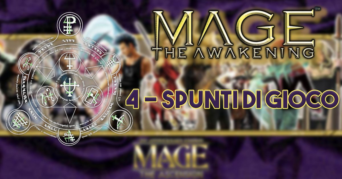 Mage the awakening spunti di gioco