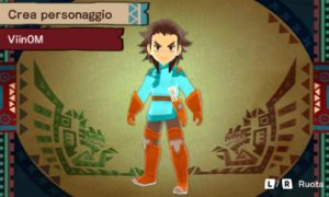 Monster Hunter Stories Personaggio 2