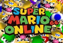 super mario 64 online 24 giocatori