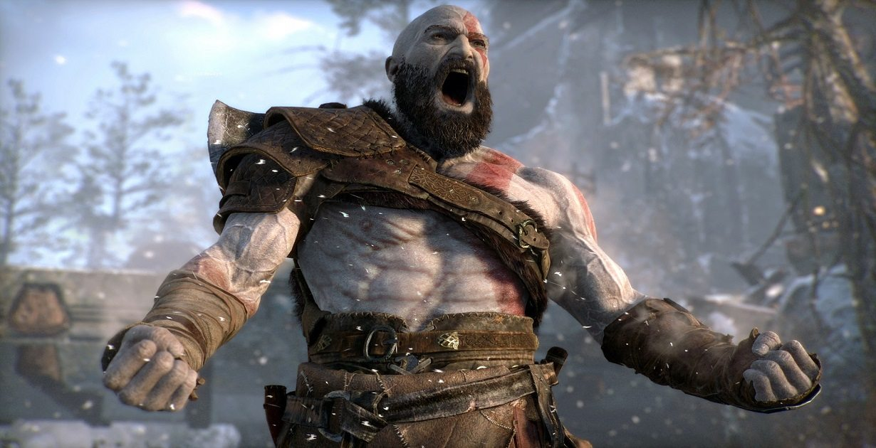 santa monica god of war tecnologia