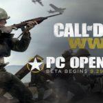 cod wwii al via oggi l'open beta per pc