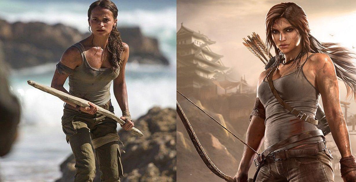 Tomb Raider, Alicia Vikander è Lara Croft: primo poster ufficiale e trailer
