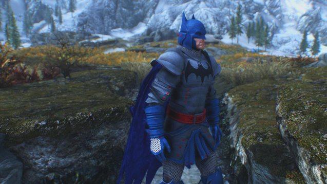 batman mod uomo pipistrello
