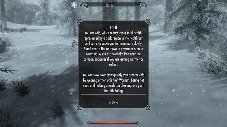 skyrim survival mode special edition