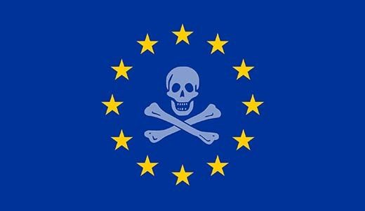commissione europea pirateria