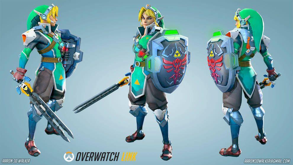 Link personaggio di overwatch