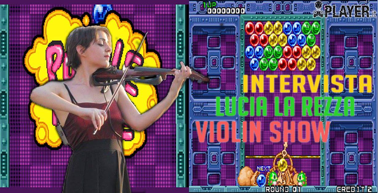 Intervista a Lucia La Rezza, un violino ad 8-bit