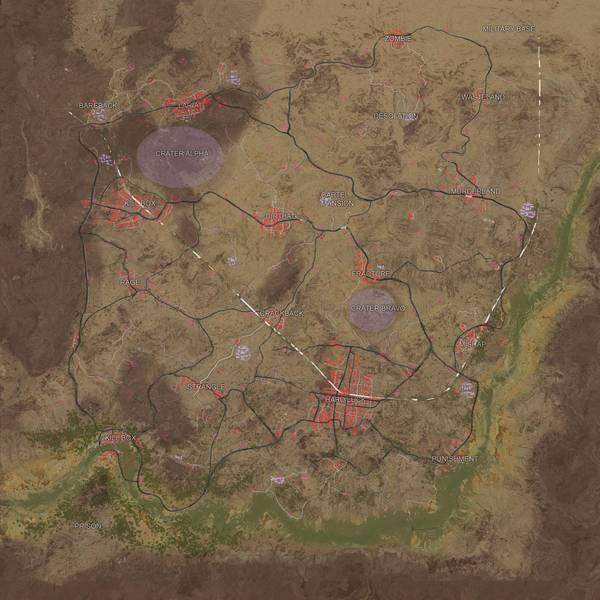 nuova mappa PUBG