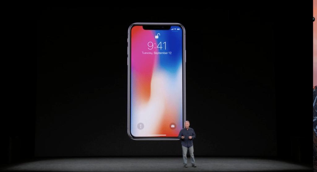 Presentazione dell'iPhoneX