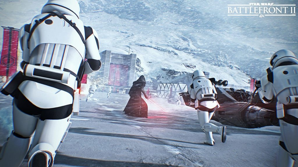Star Wars Battlefront 2 Beta stormtroopers