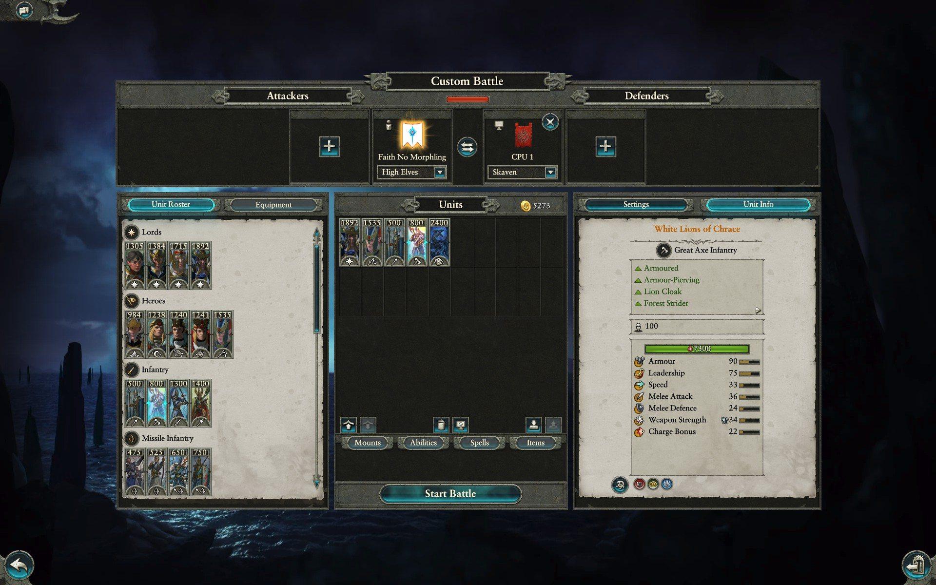 partita casuale warhammer 2