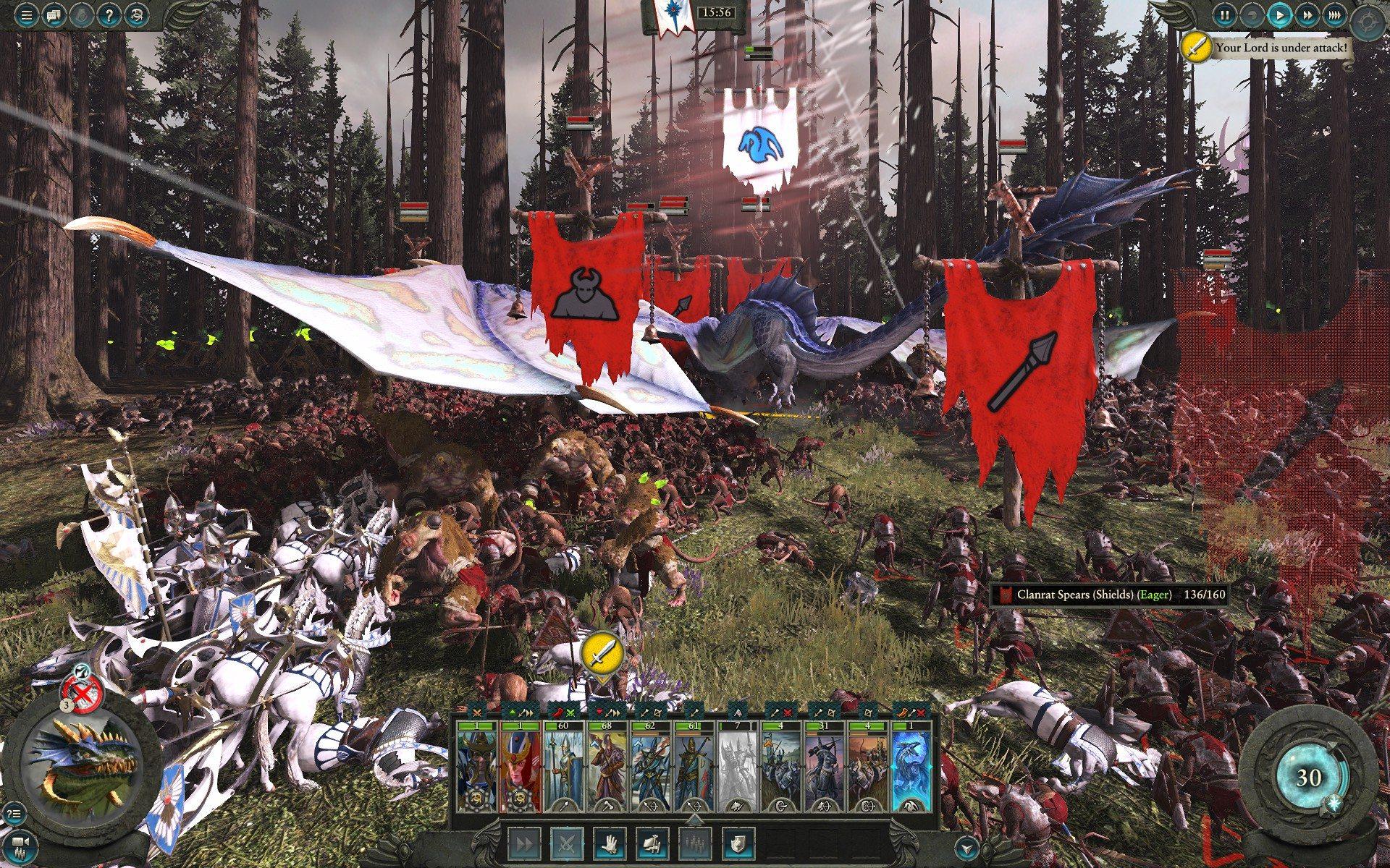 battaglia warhammer 2 total war elfi