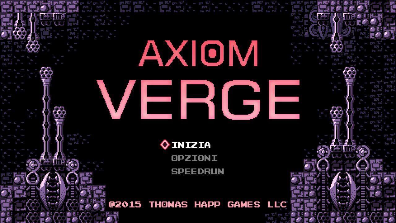 axion verge title screen