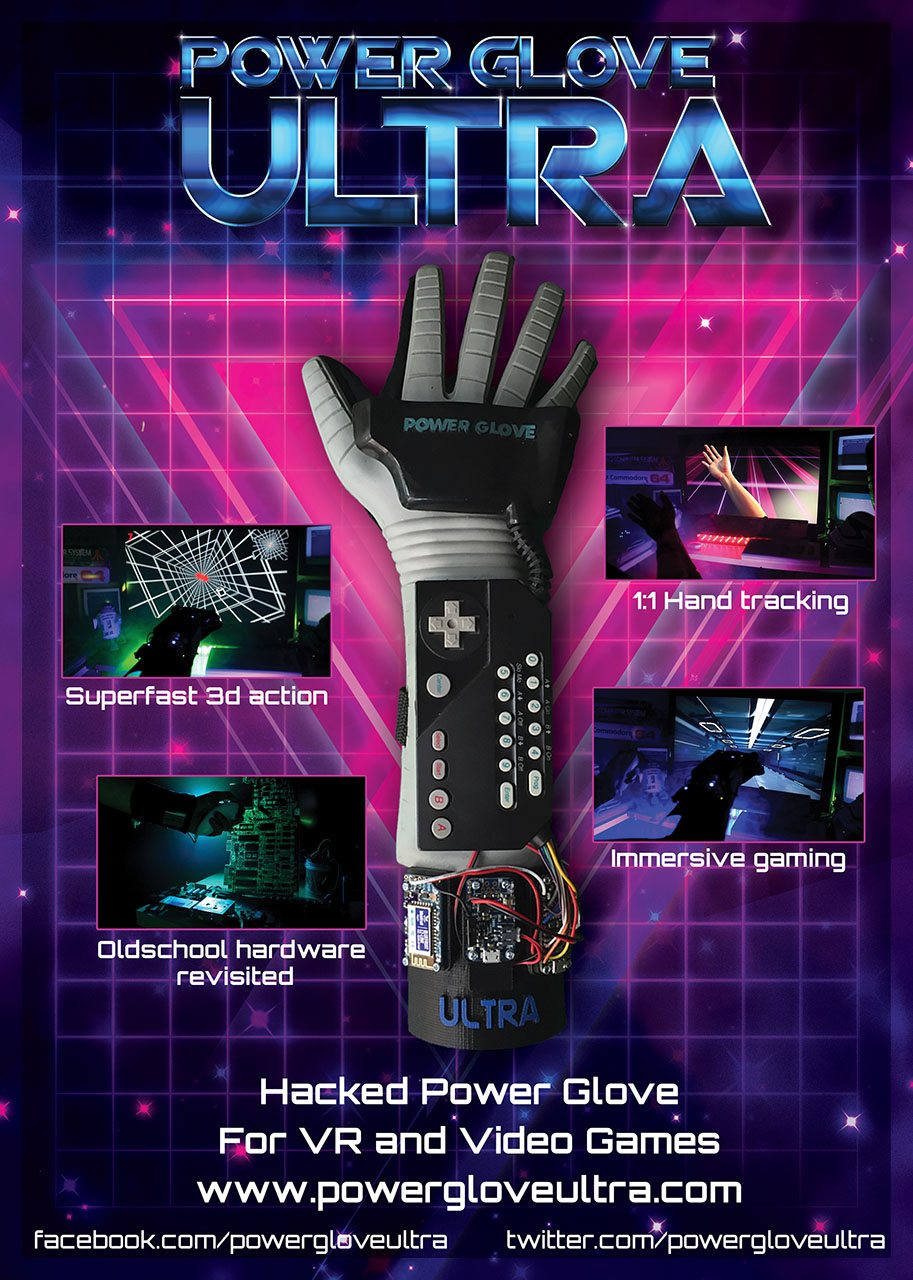 scheda illustrativa power glove ultra