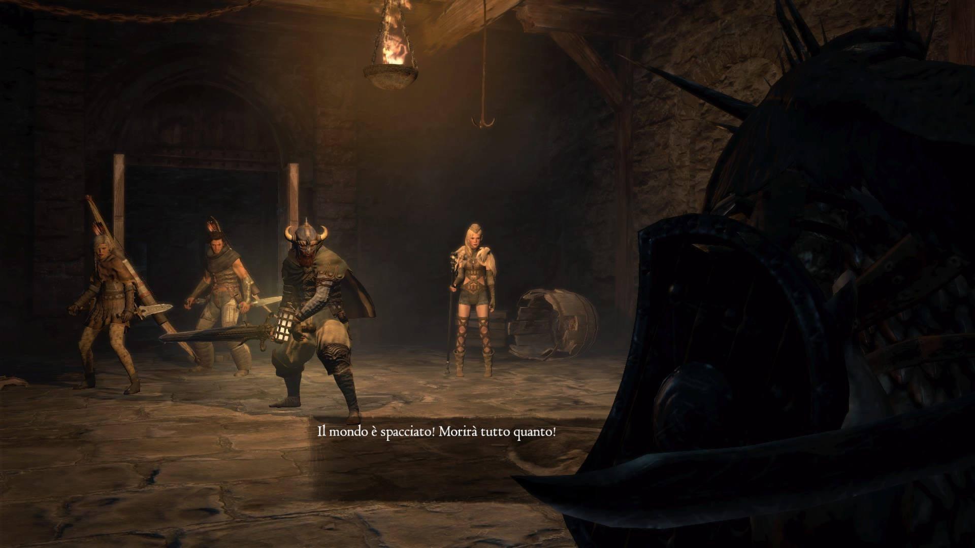 Dragon's Dogma screenshot battaglia