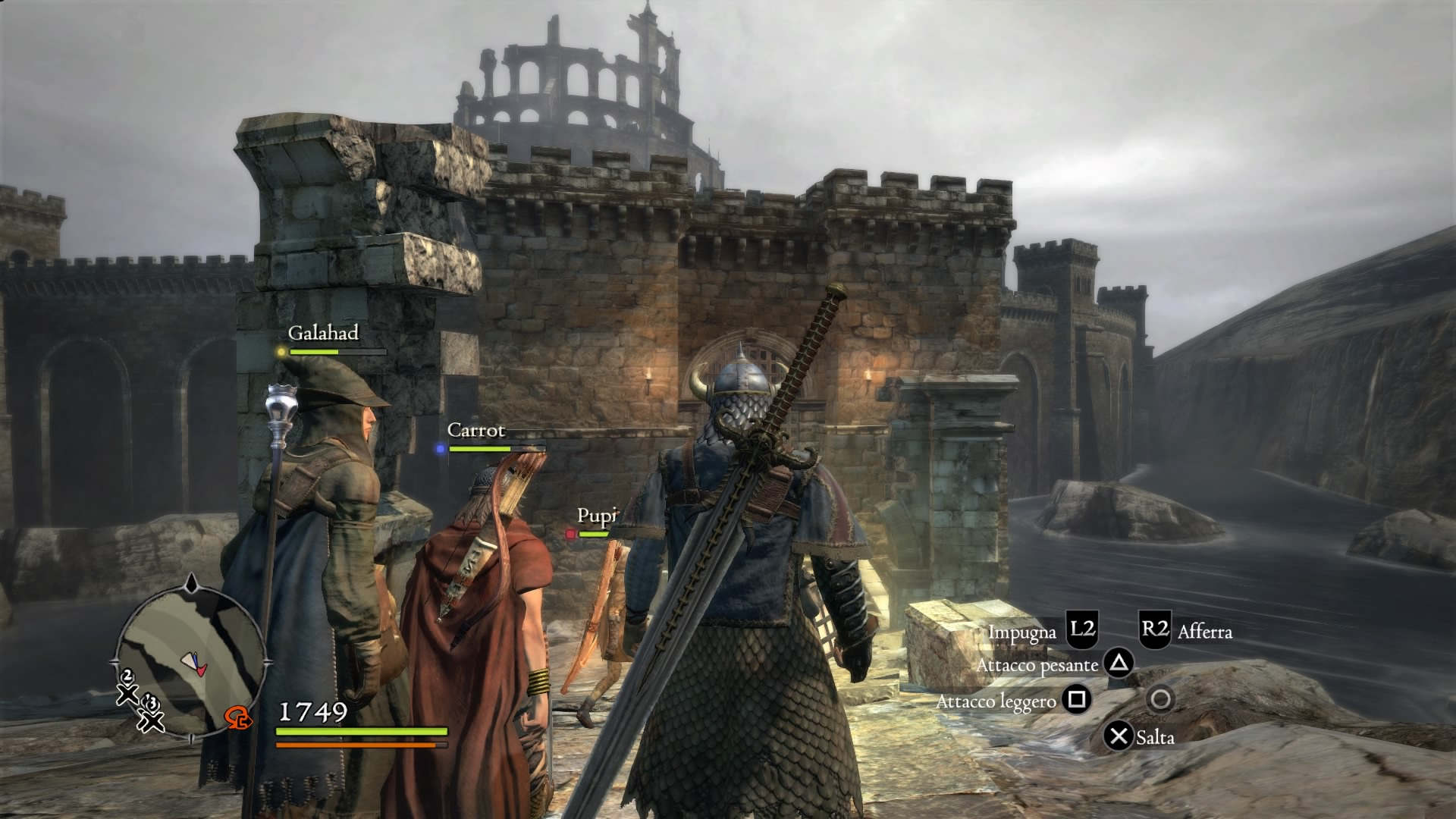Dragon's Dogma party