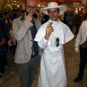 Romics 2017 - the young pope