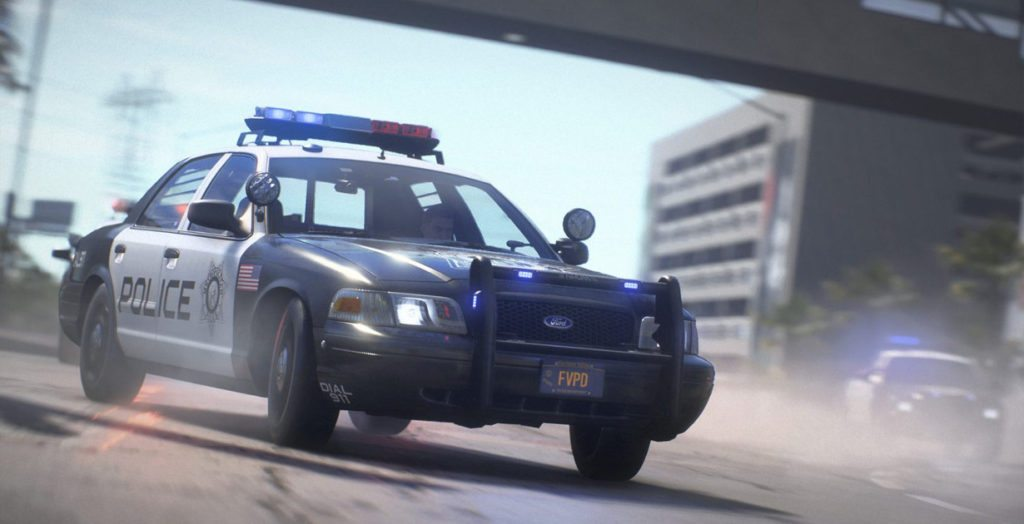 Need For Speed Payback polizia