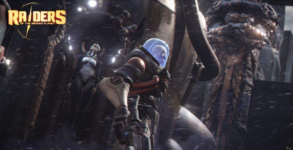 Raiders of the broken planet screenshot protagonista