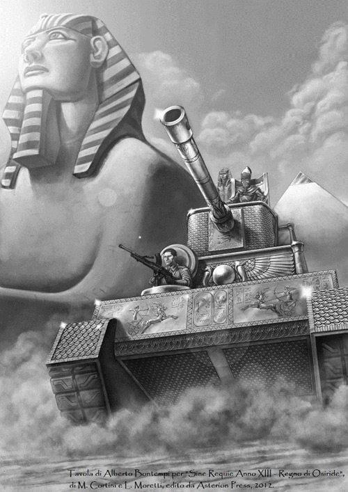 Regno di Osiride - Carro Armato