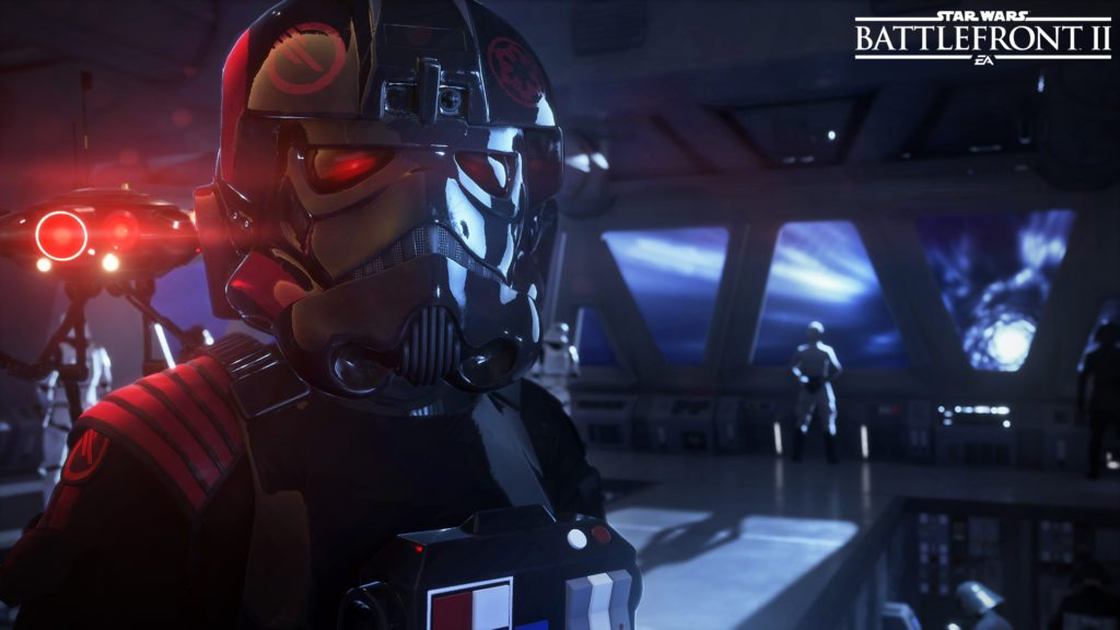Star Wars Battlefront 2 Beta stormtrooper