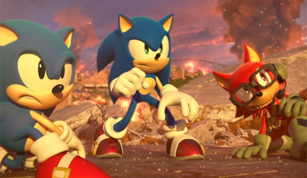 Sonic Forces e Sonic Mania sono in qualche modo collegati 10