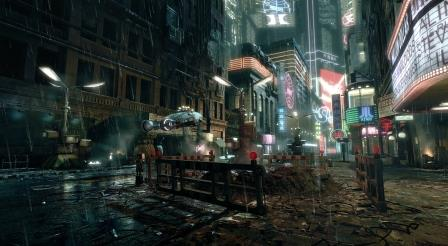 Blade Runner paesaggio