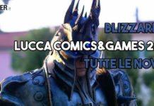 Blizzard al Lucca Comics and Games 2017, tutte le novità